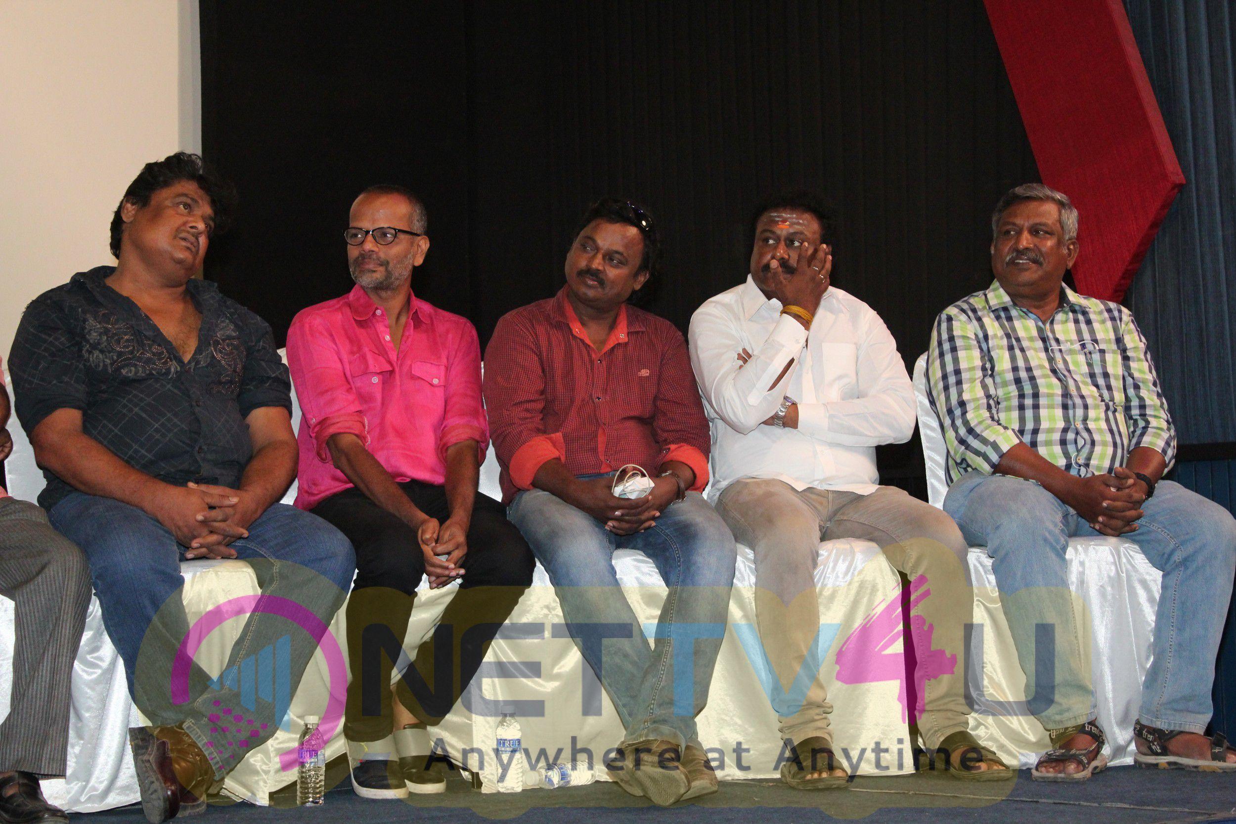 Tamil Film Producers Council Vishal Team Press Meet Stills