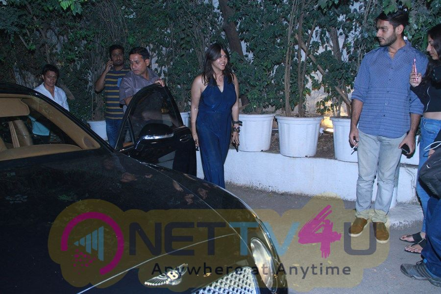 Team Of Film Mental Hai Kya Spotted At Olive Bandra  Hindi Gallery