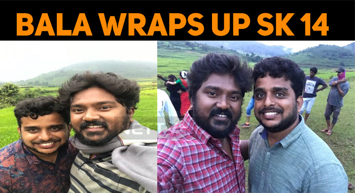Bala Saravanan Wraps Up His Portions In SK 14!