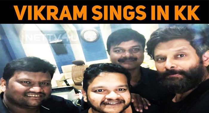 Chiyaan Vikram Croons For Kadaram Kondaan!