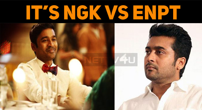 Dhanush Locks Horns With Suriya!