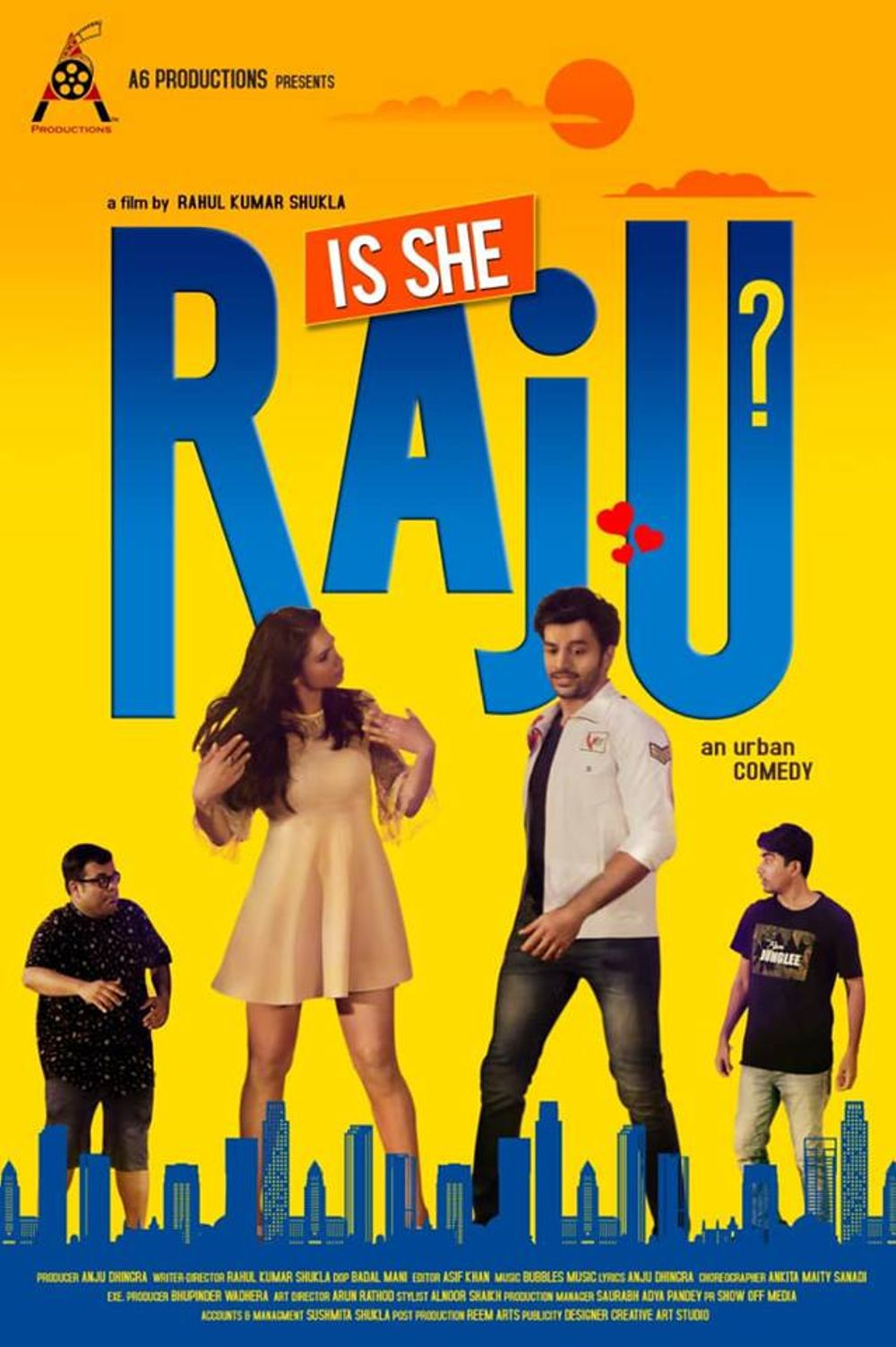 Is She Raju? Movie Review