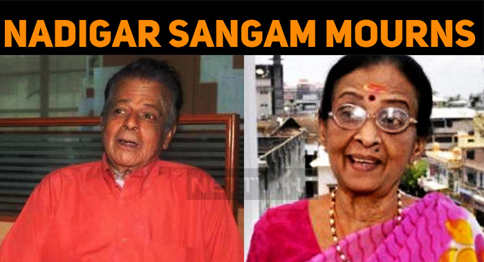 Nadigar Sangam Mourns The Death Of Veteran Koll..