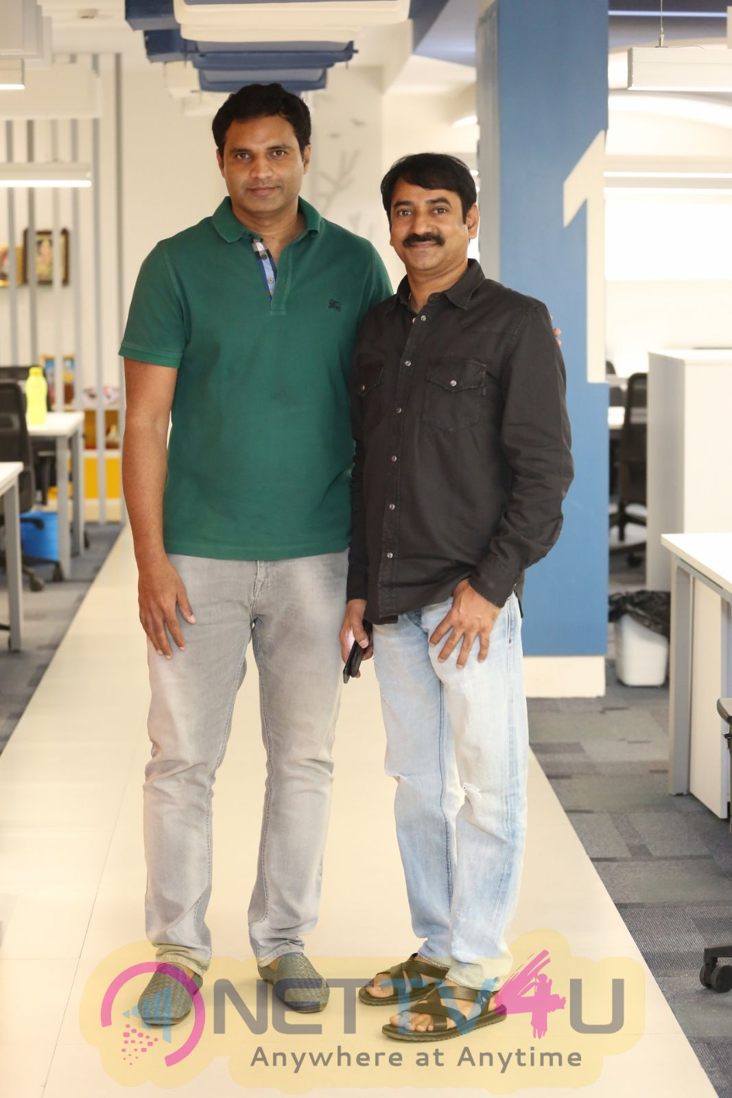 MLA Movie Producers Kiran Reddy & Bharath Chowdary Interview Images  Telugu Gallery