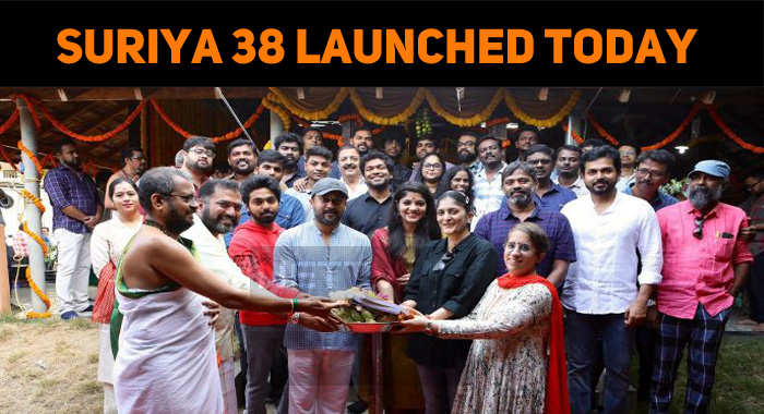 Suriya – Sudha Movie Launched!