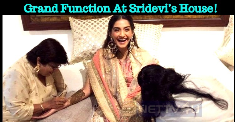 Grand Function At Sridevi's House!