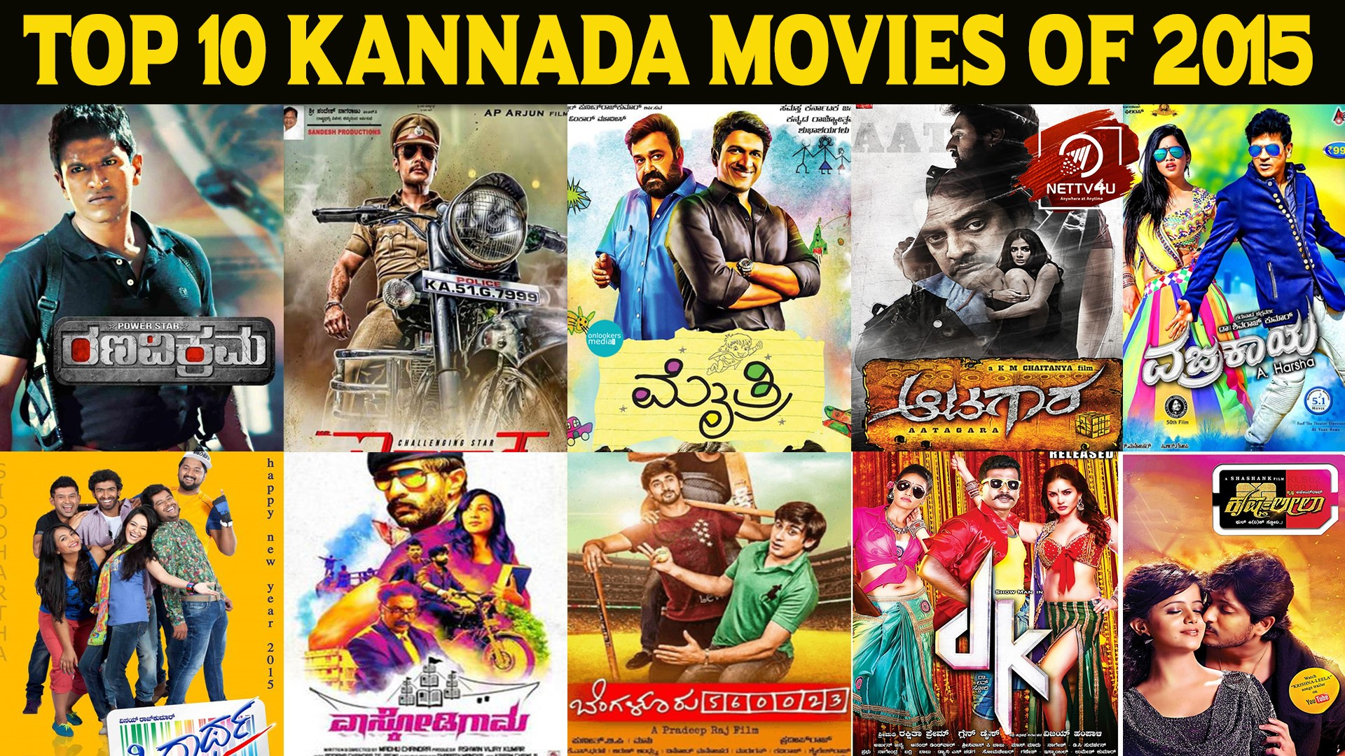Top 10 Kannada Movies Of 2015