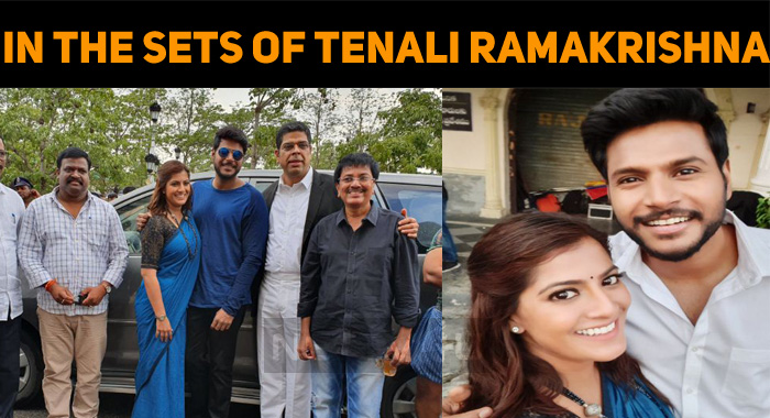 Varalaxmi's Day With Tenali Ramakrishna Team!