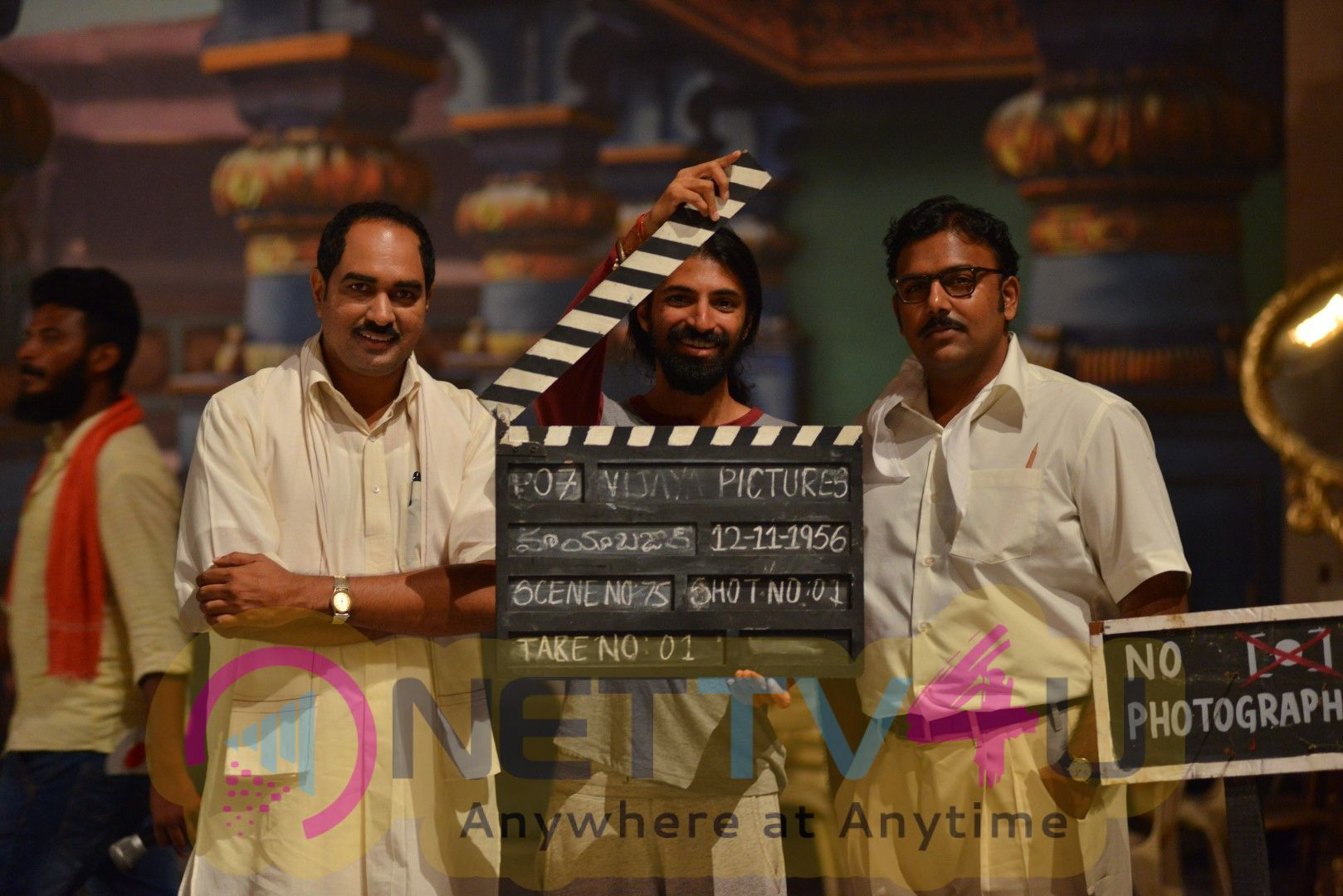Mayabazar Movie Making Stills From Mahanati  Telugu Gallery