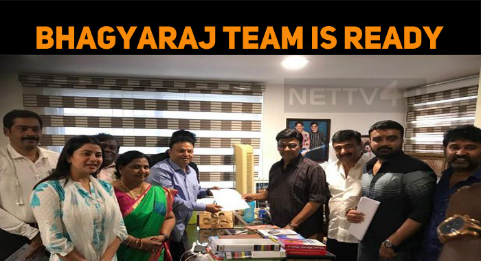 It's Official Now! K Bhagyaraj For President An..