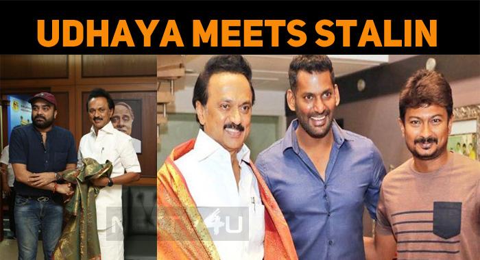 Udhaya Meets Stalin!