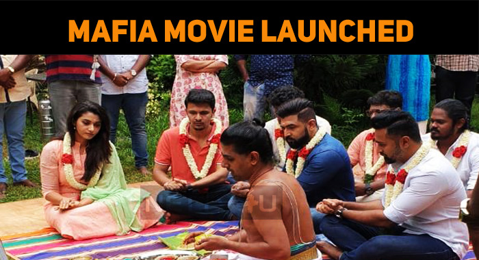 Mafia Movie Launched! Shooting Started!