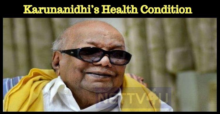 Karunanidhi's Condition Is Still Worse?