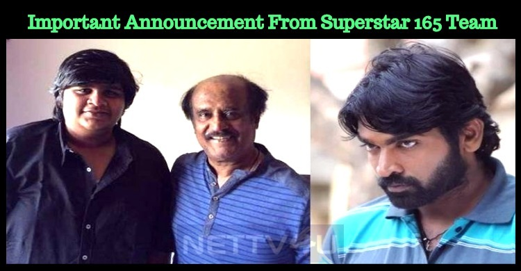 Breaking: Superstar 165th Movie Title To Be Out Today