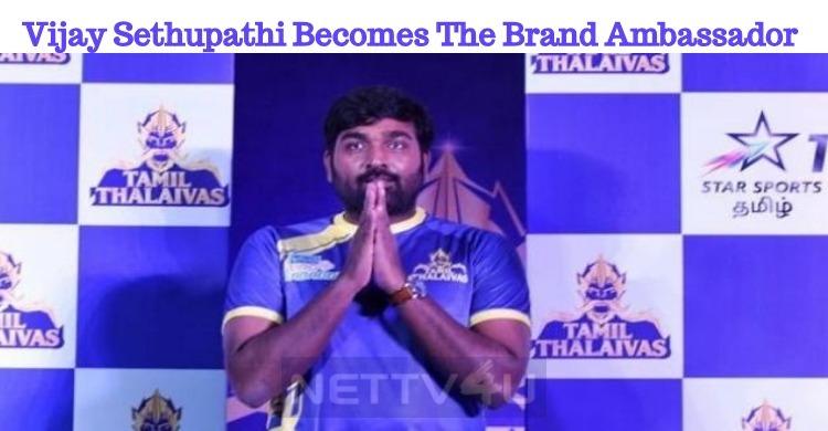 Vijay Sethupathi Becomes The Brand Ambassador Of Pro-Kabbadi League!