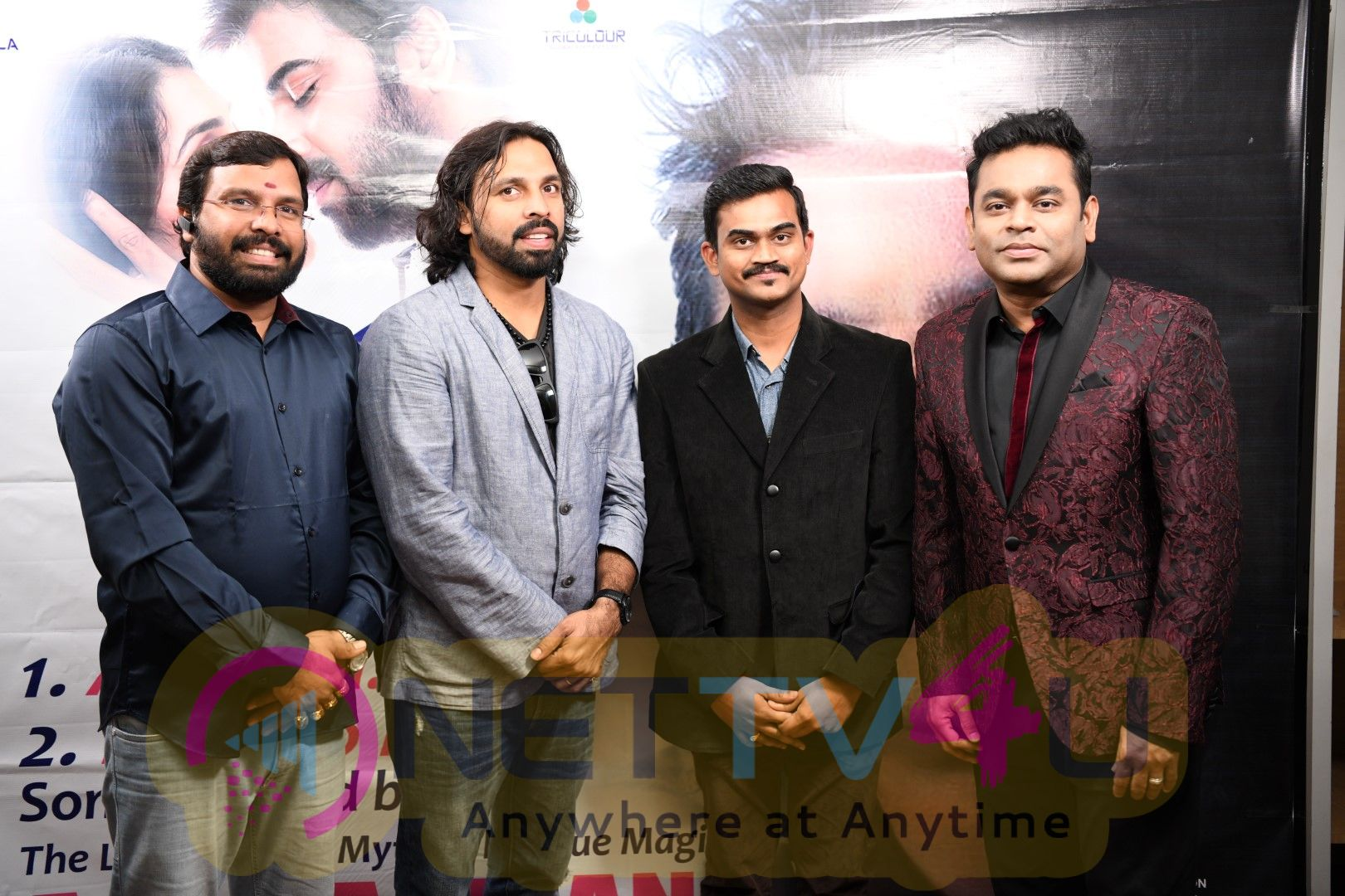 E EE Movie Audio Launched By AR Rahman  Pics