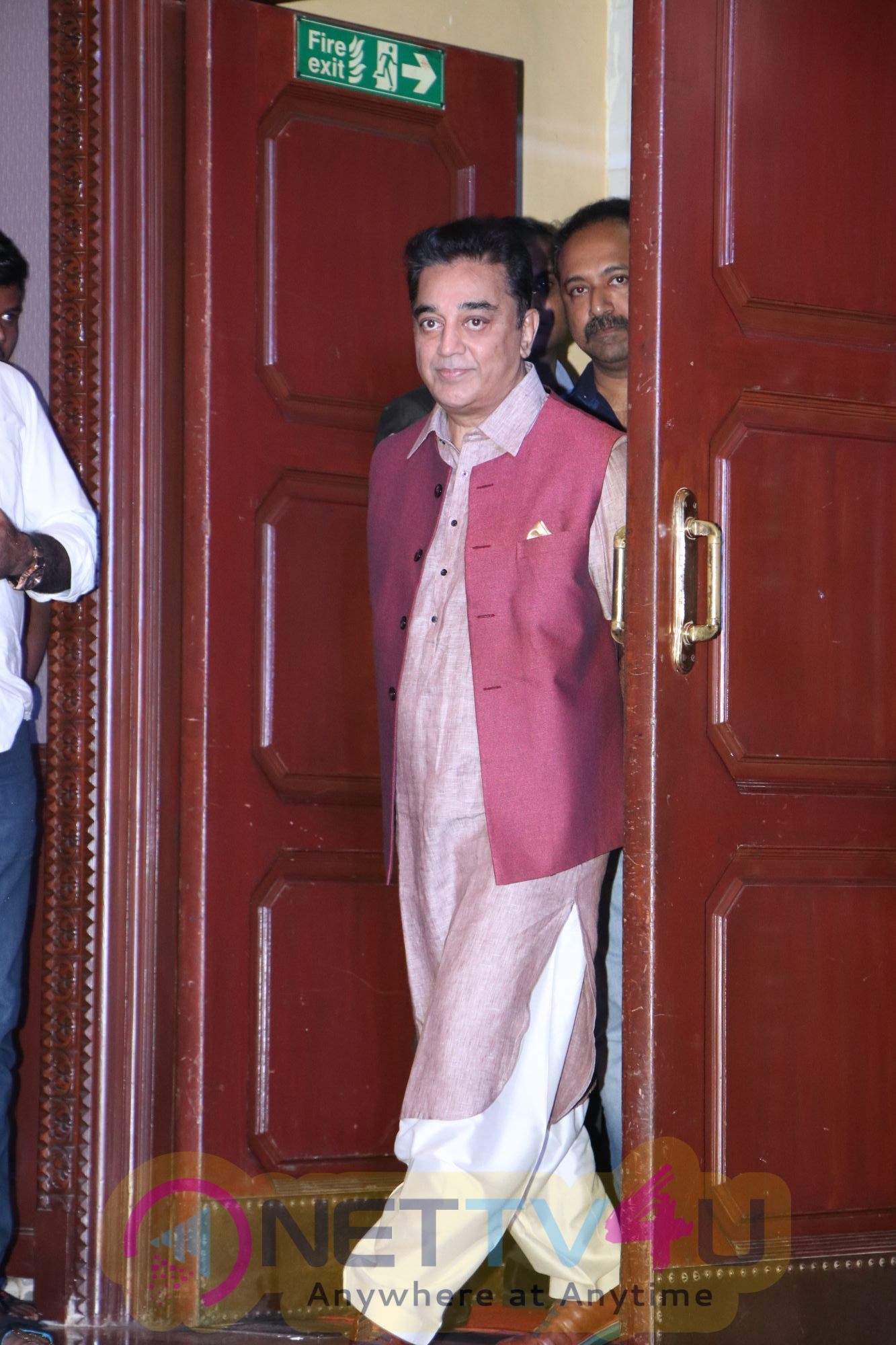 Kamal Hassan Press Meet Pics