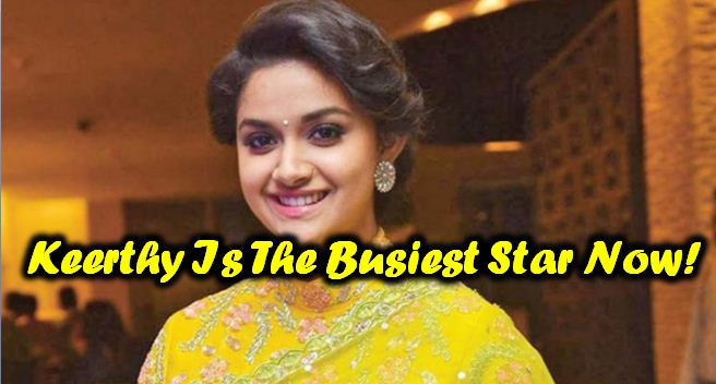 Keerthy Suresh's Next Is Yet To Be Titled!