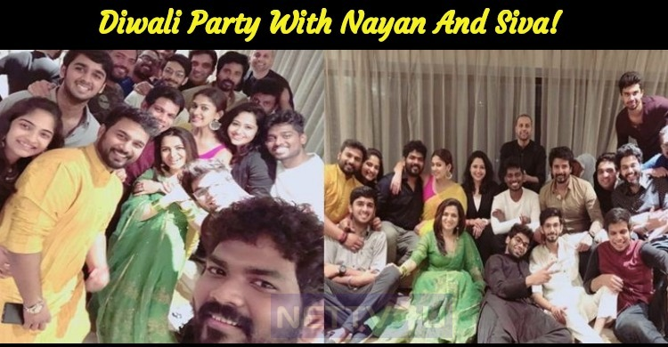 It's A Great Diwali Party With Nayanthara And Sivakarthikeyan!