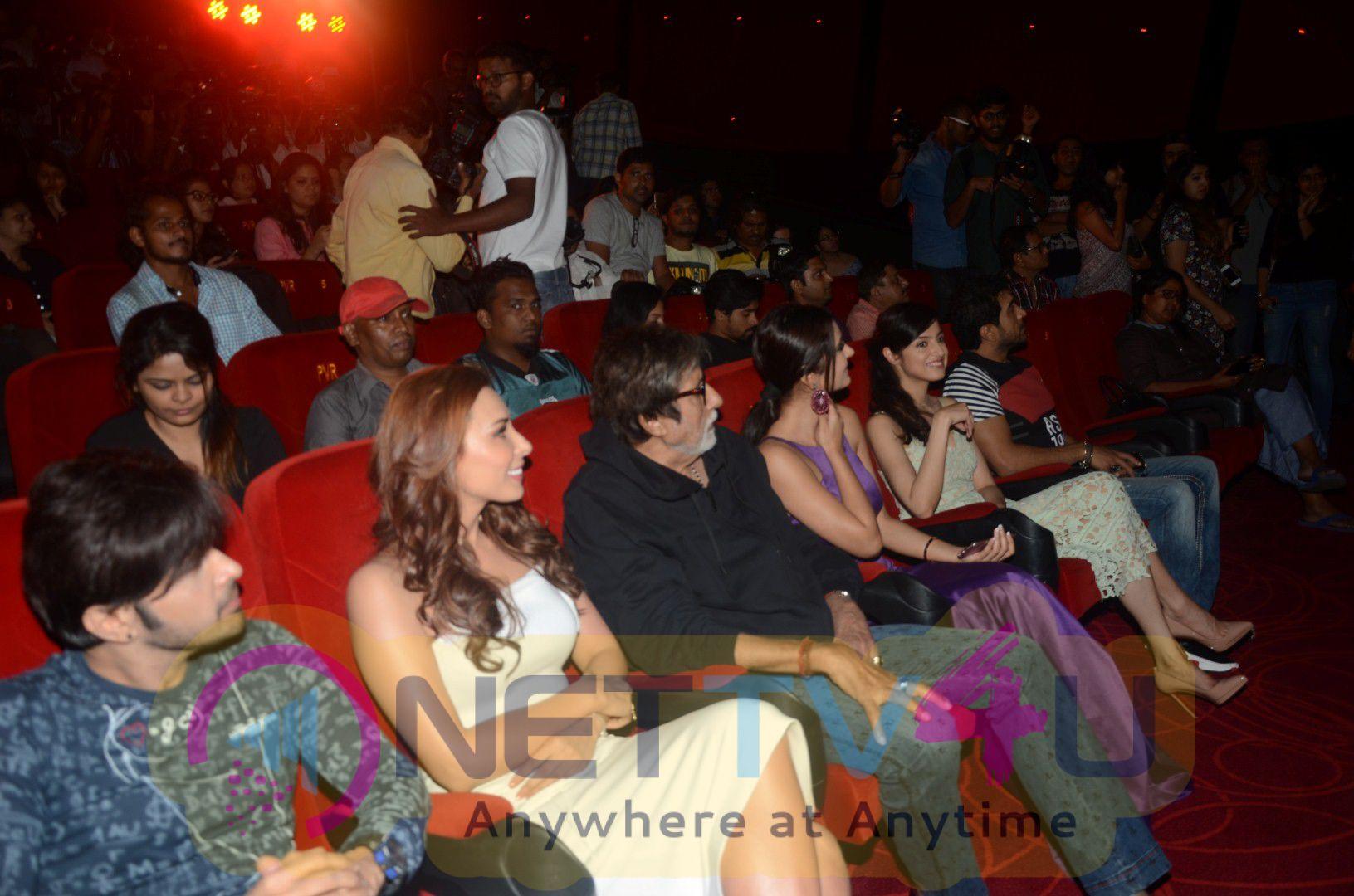 Amitabh Bachchan Launches Himesh & Lulia Vantur Music Album Aap Se Mausiiquii Cute Pics