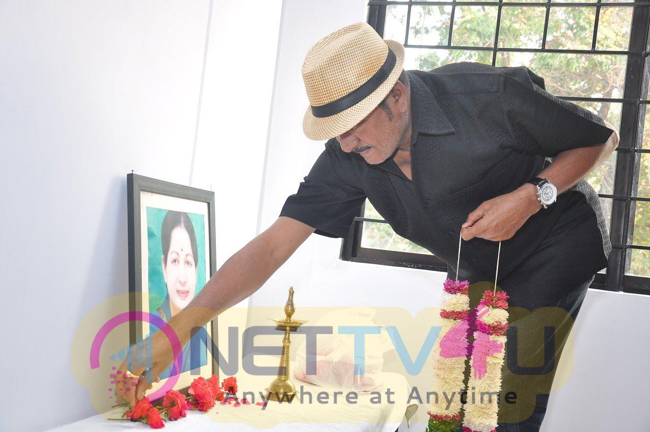 Maa Asociation Condoles Puratchi Thalaivi Amma J Jayalalithas Demise Stills Telugu Gallery