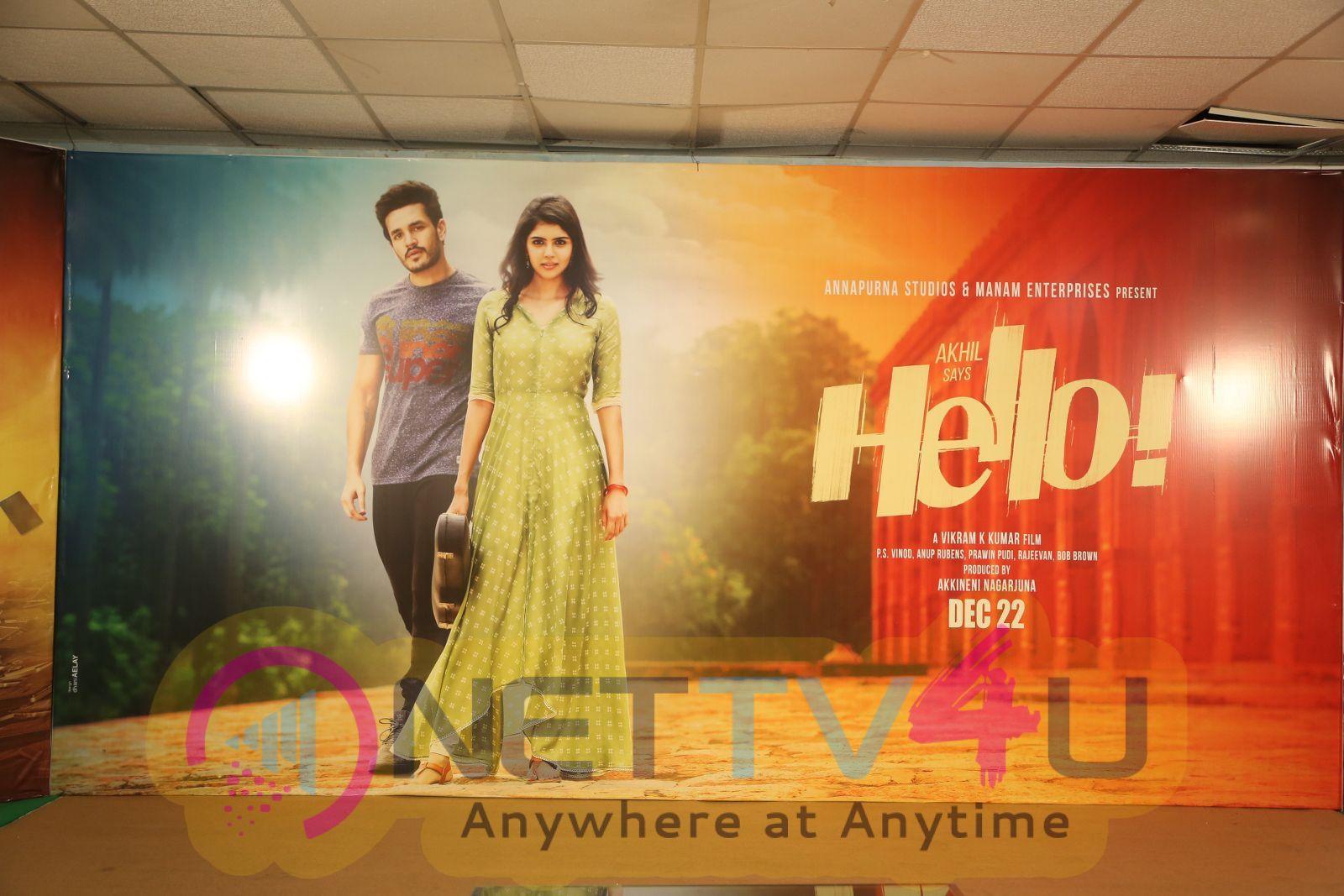 Hello Movie Press Meet Pics Telugu Gallery