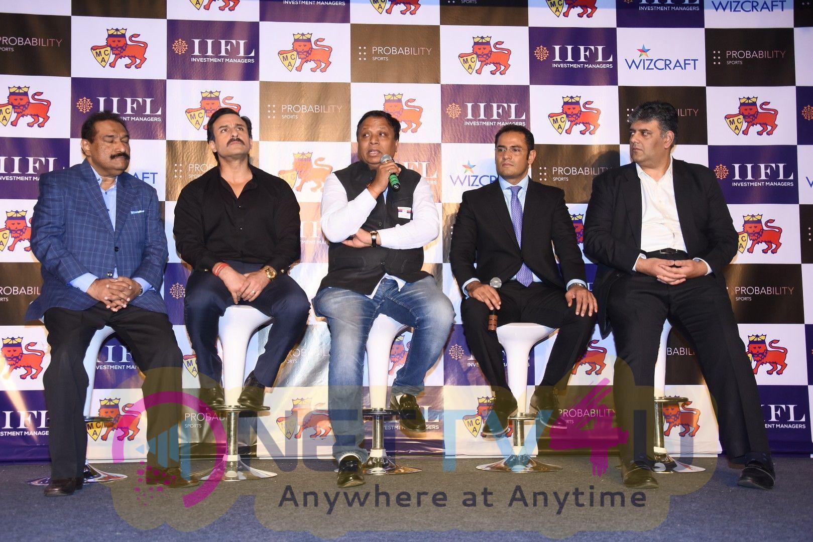 Saif Ali Khan At The Launch Of T20 Mumbai League Images