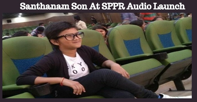 Santhanam Brought His Son To The Limelight!