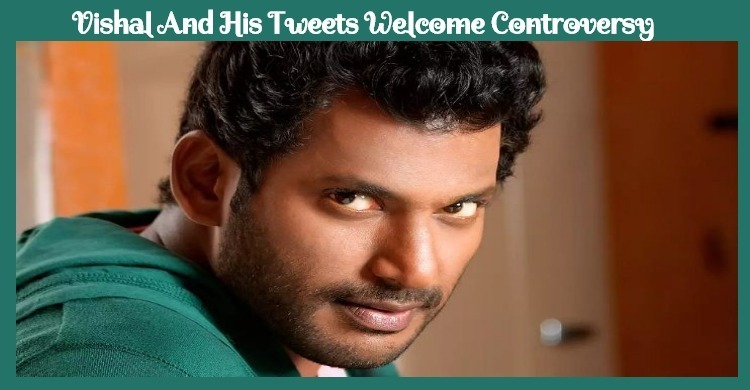 Vishal's Tweet To Create Controversy! Tamil News