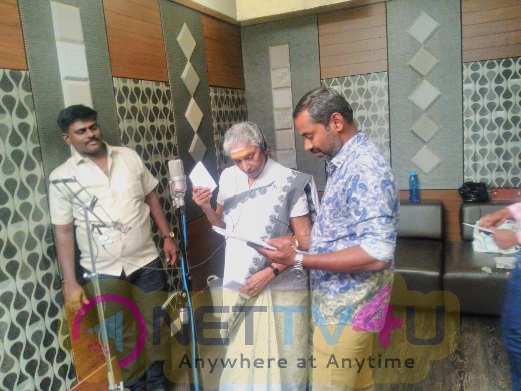 Pannadi Movie Song Recording Stills