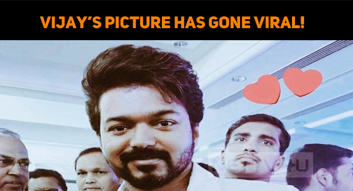 Vijay's Picture Has Gone Viral!