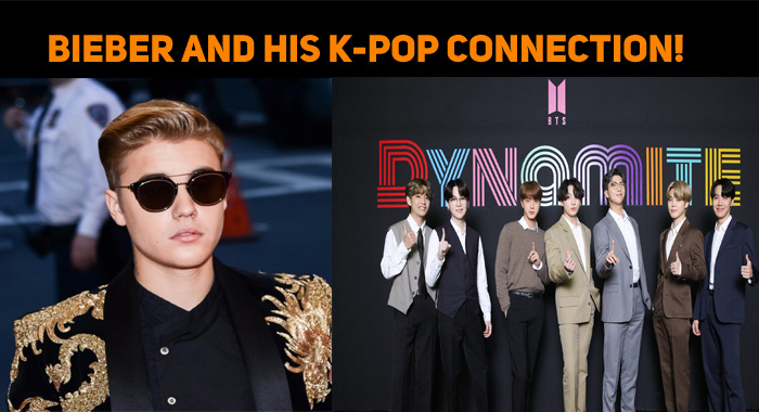 Justin Bieber And His K-Pop Connection!