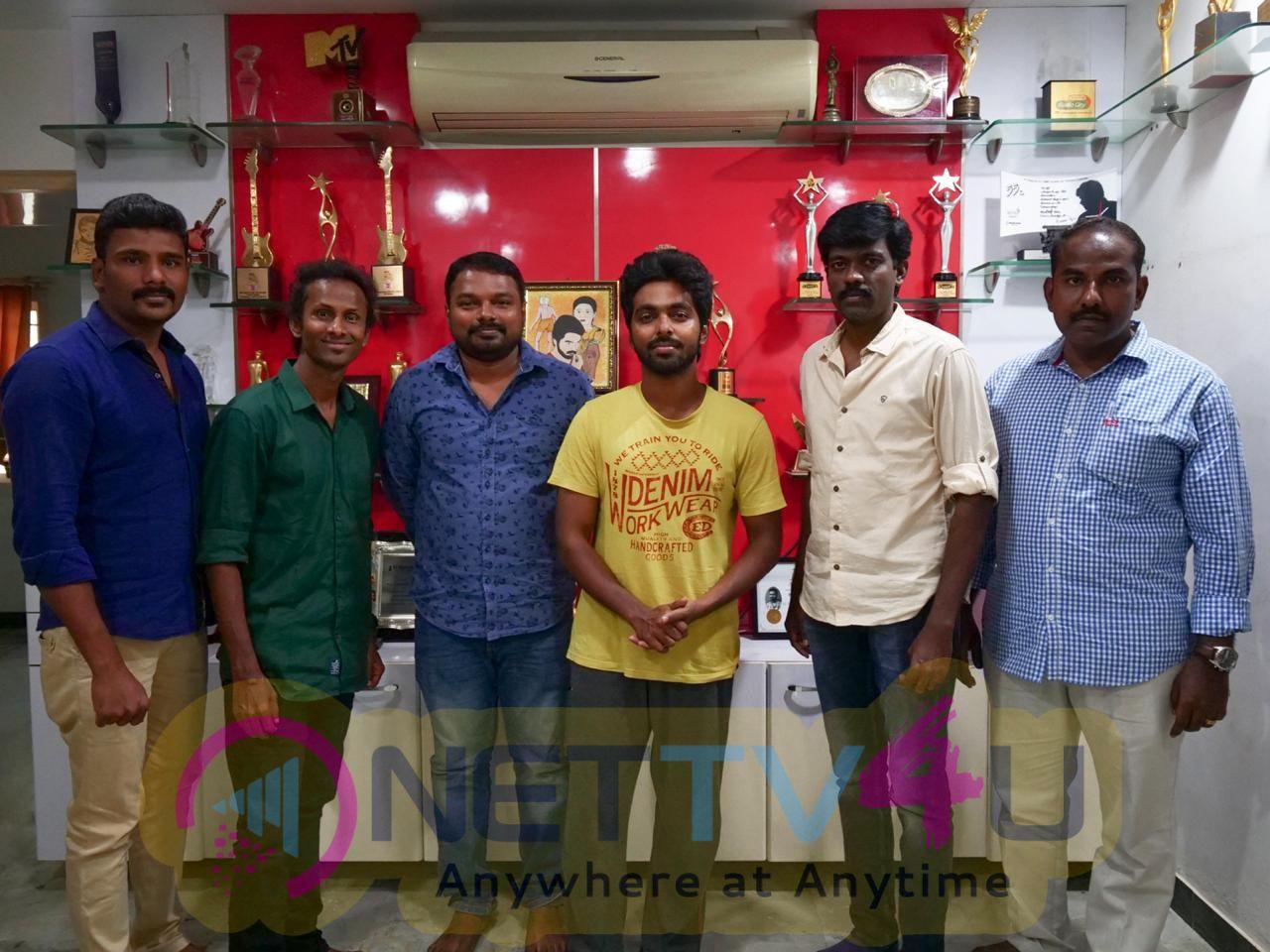 Kadaisi Echcharikkai Movie Song Launch Stills  Tamil Gallery