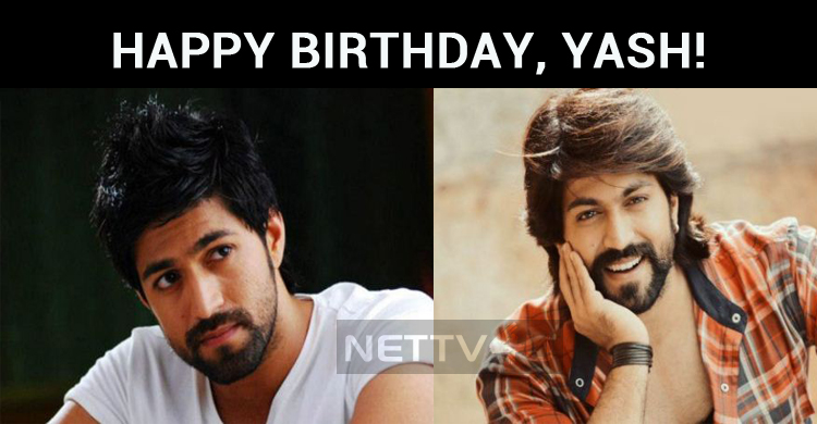 Rocking Star Yash Celebrates His Birthday!