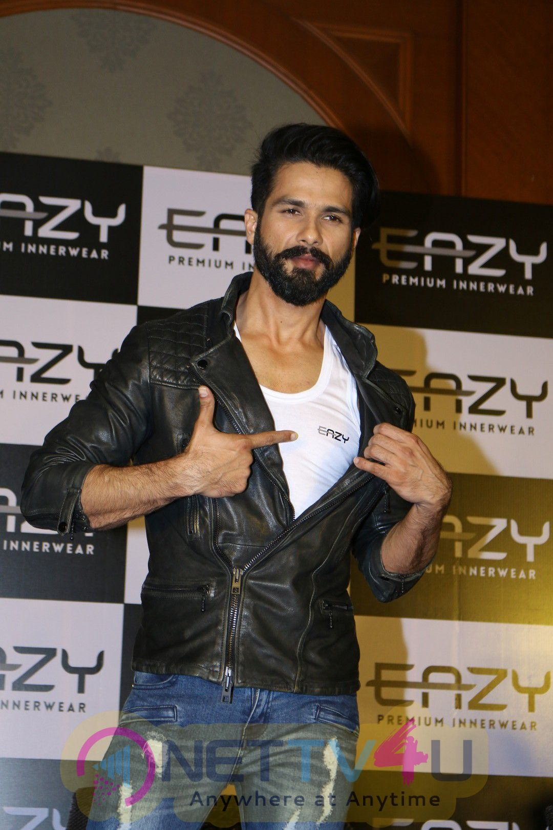 Shahid Kapoor Launches Eazy Premium Innerwear Brand Images