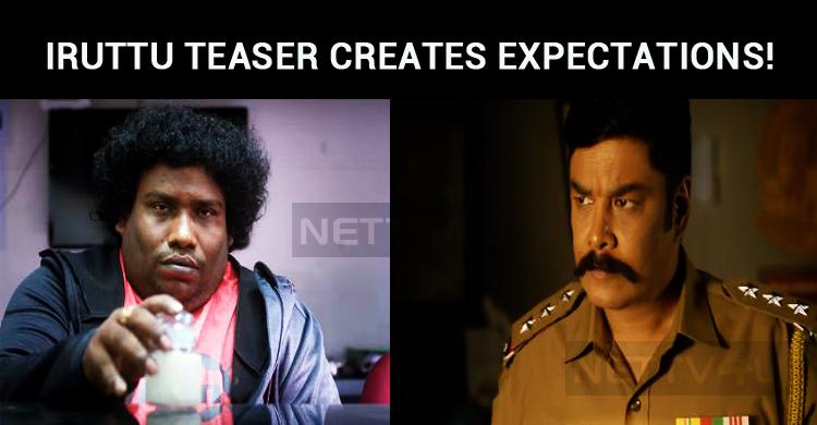 Sundar C's Iruttu Teaser Creates Huge Expectations!