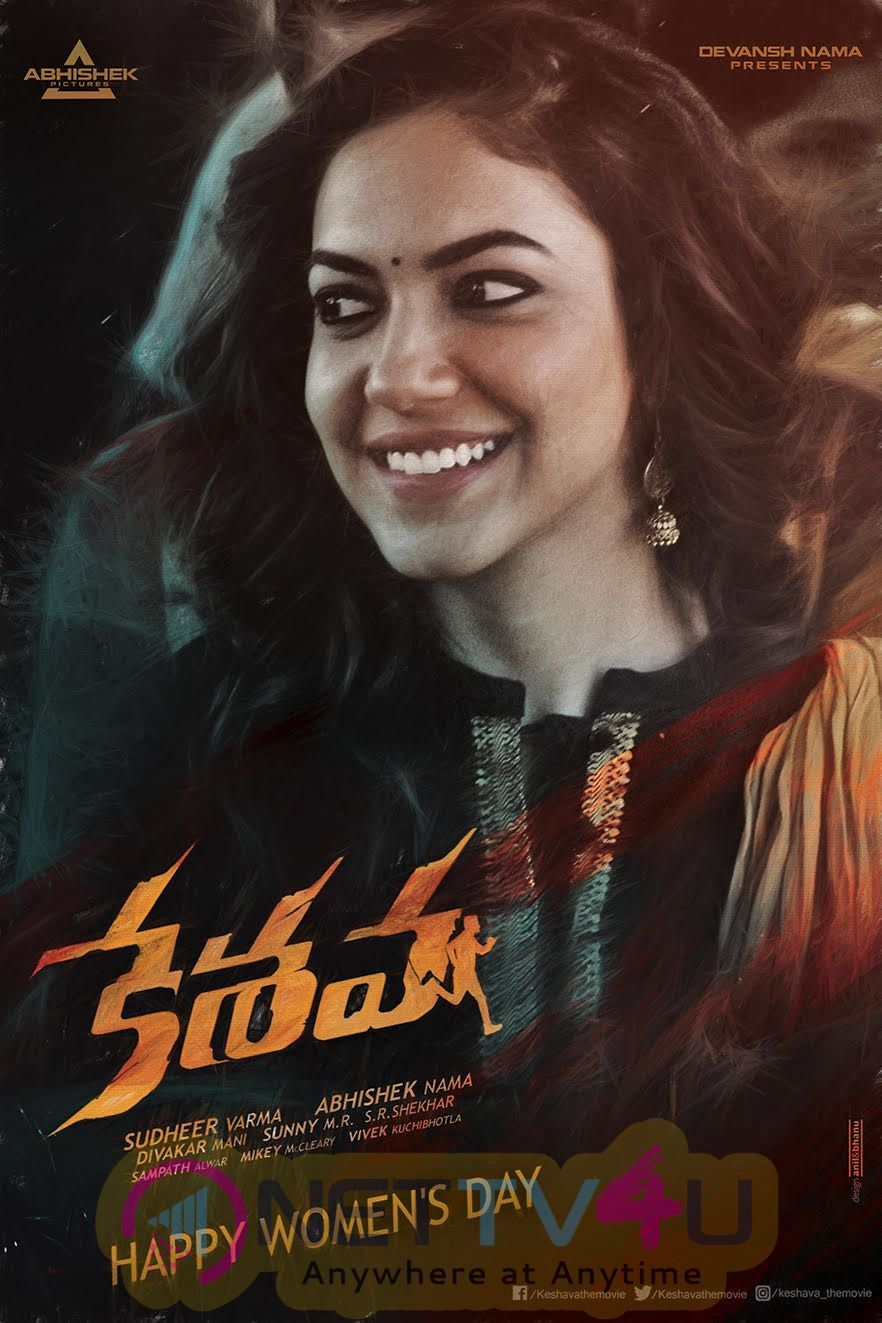 Keshava Movie Womens Day Specials Stunning Posters