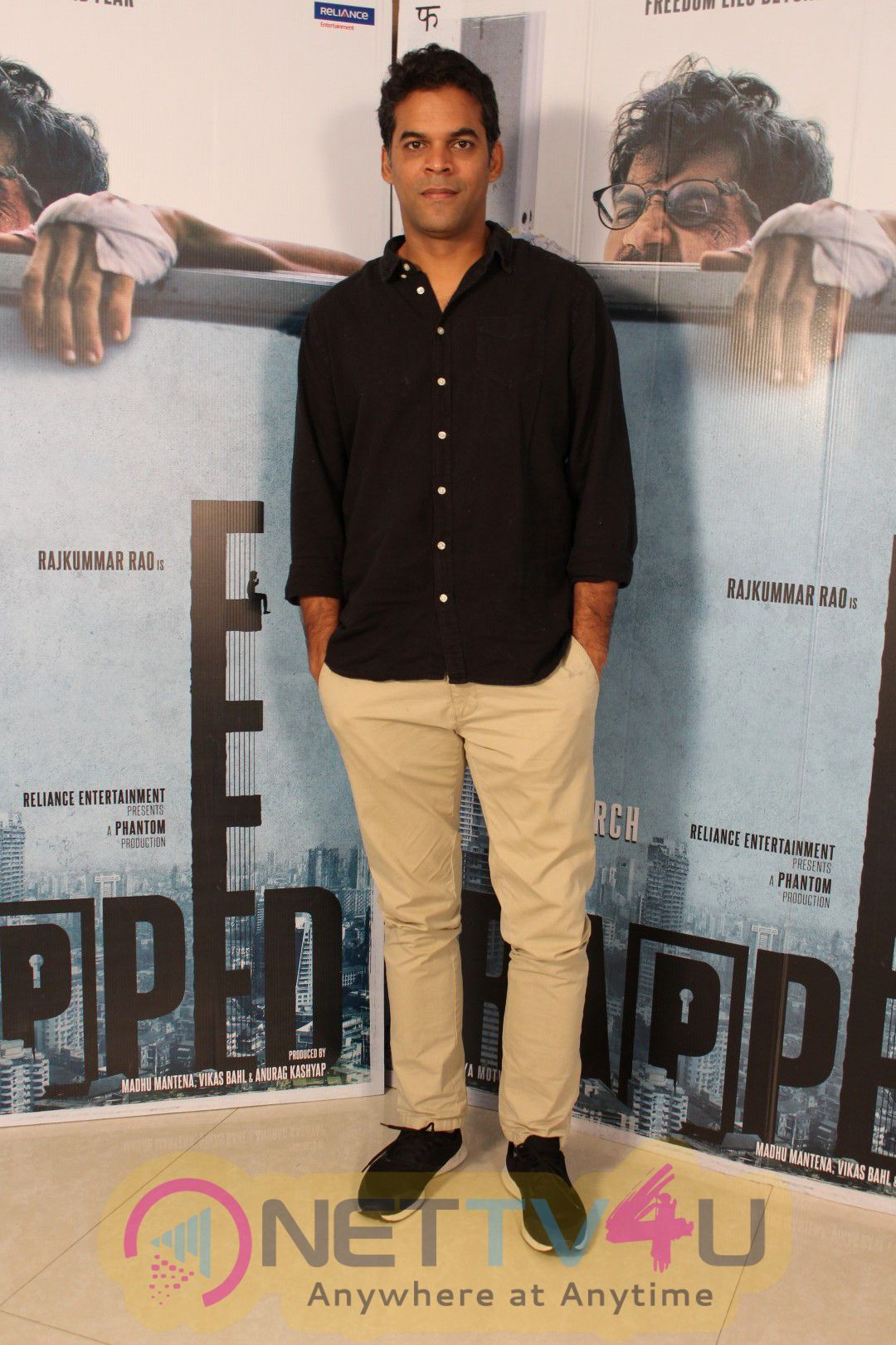 Raj Kumar Yadav Spotted During Promotion Of Film Trapped Pics