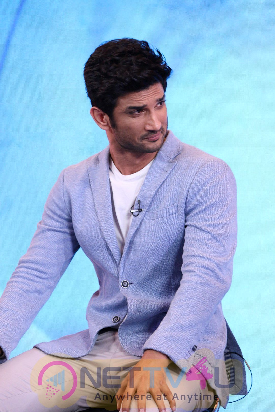 Sushant Singh Rajput At The Launch Of Behtar India Campaign Stunning Photo