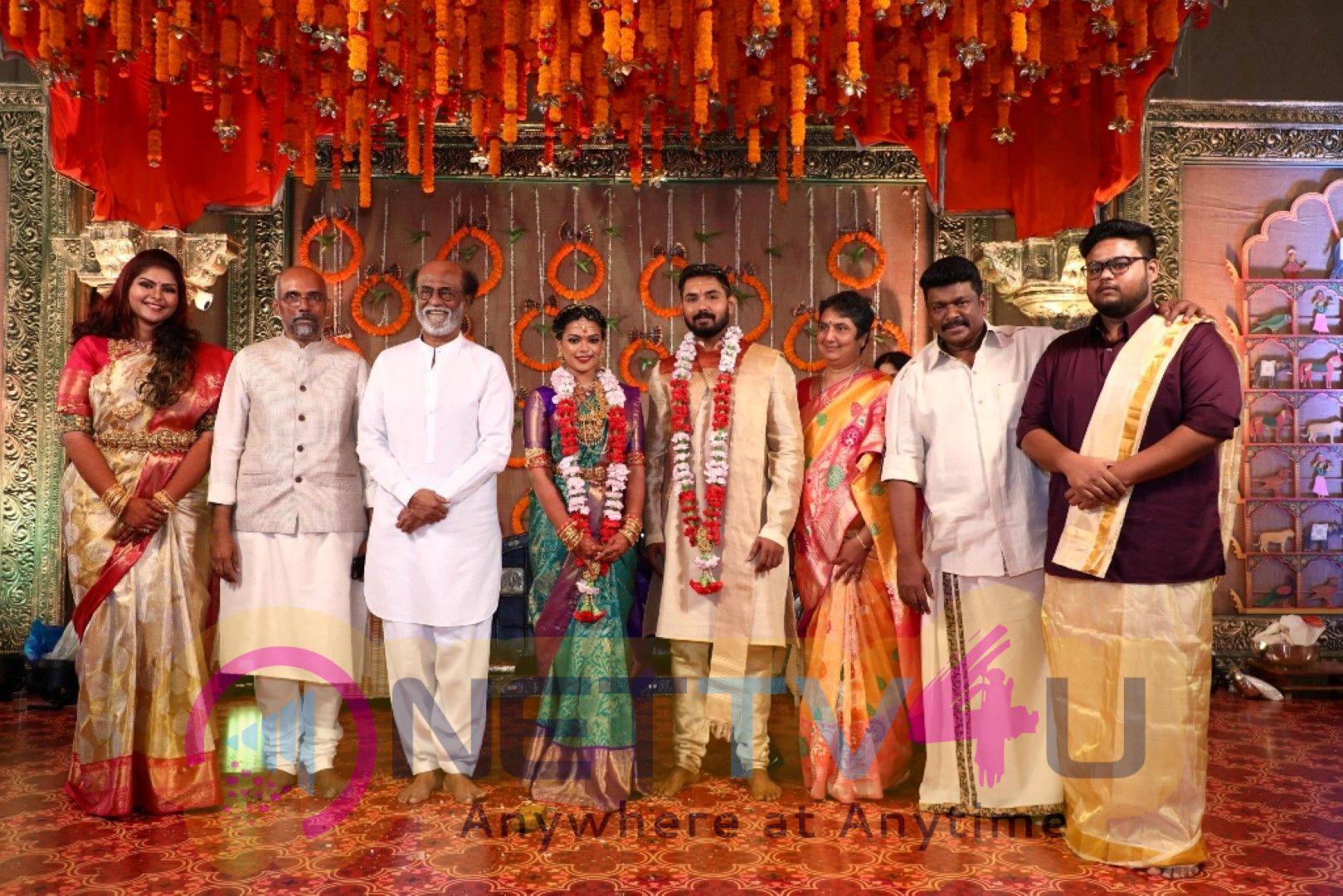 Keerthana And Akshay Wedding Images