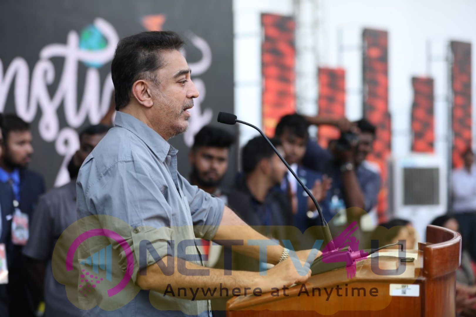Kamal Haasan Addressing The Students At SSN College In Chennai Images
