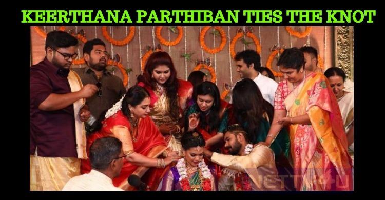 Keerthana Parthiban Enters The Wedlock On Women's Day!