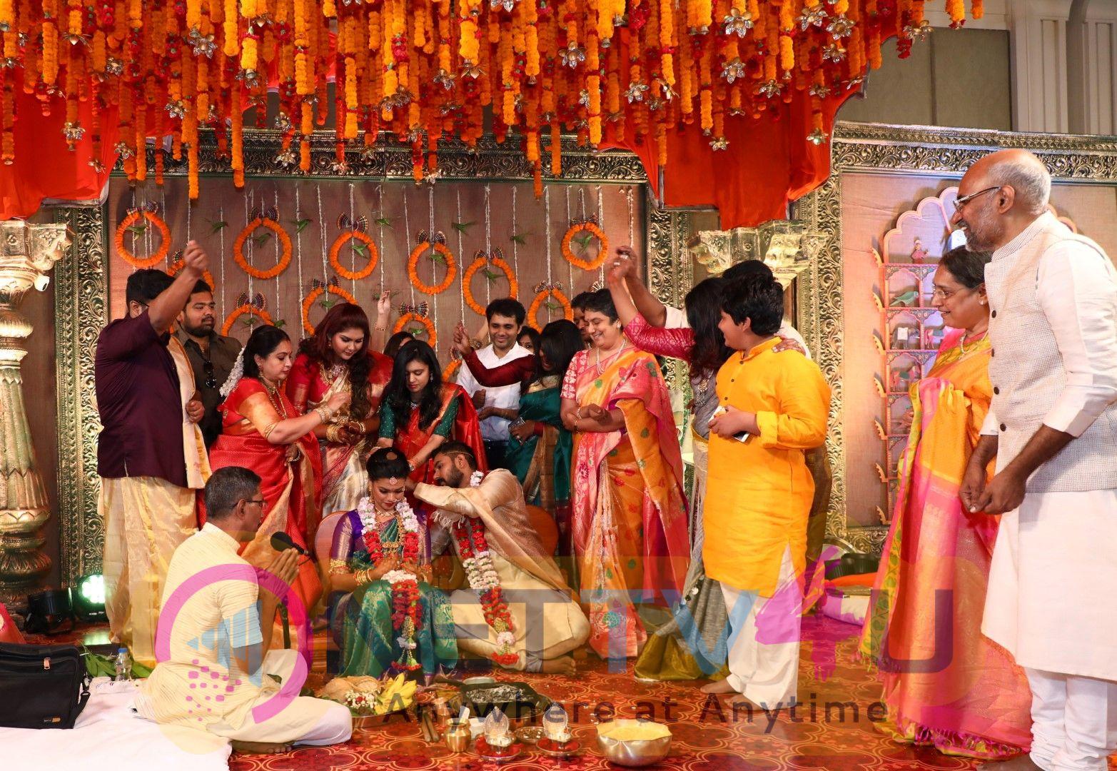 Keerthana Weds Akshay Photos