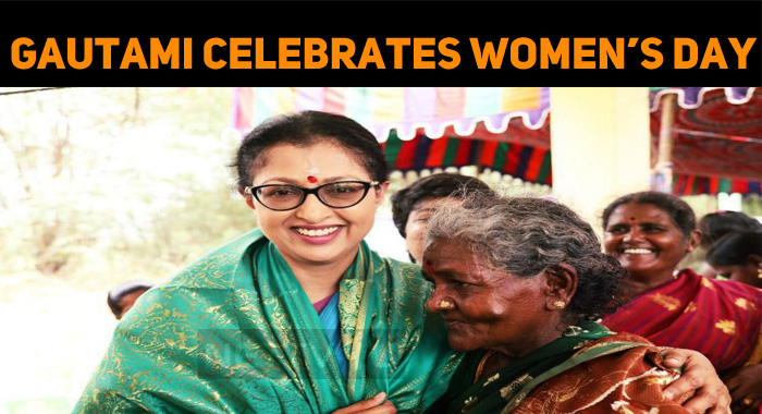 Gautami Celebrates Women's Day With Public!