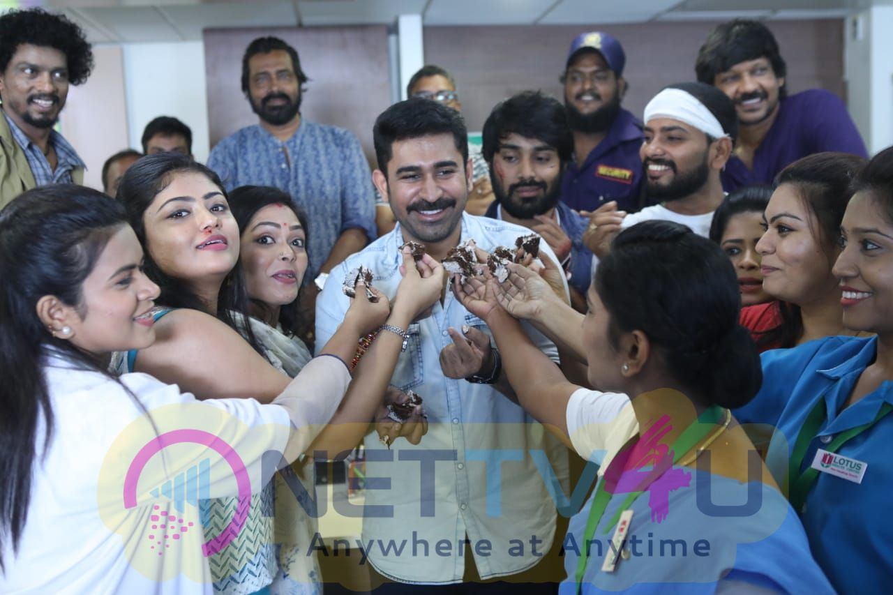Tamilarasan Movie Team Celebrates Womens Day Pics Tamil Gallery