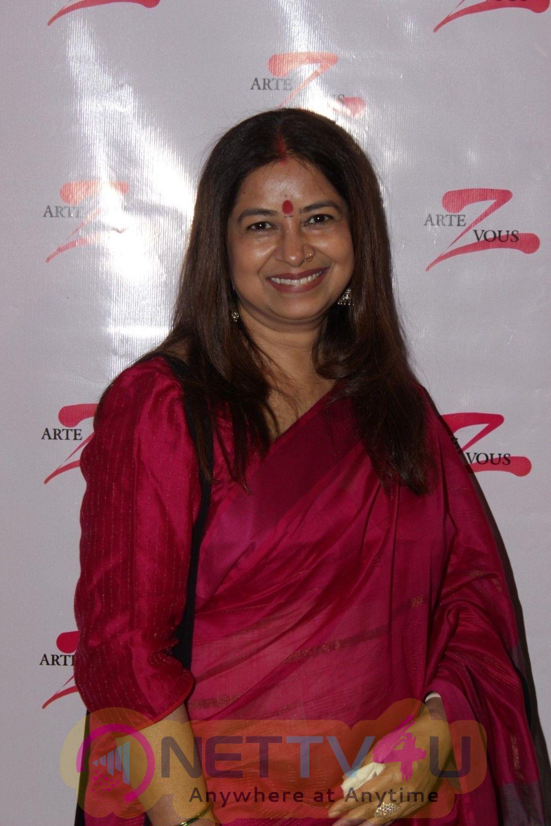 Inauguration Of Art Exhibition With Rekha Bhardwaj Photos