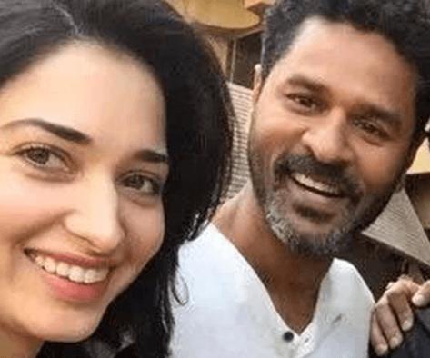 Prabhudeva And Tamannaah Join Hands For Movie