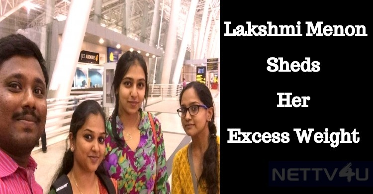 Lakshmi Menon Looks Slim!