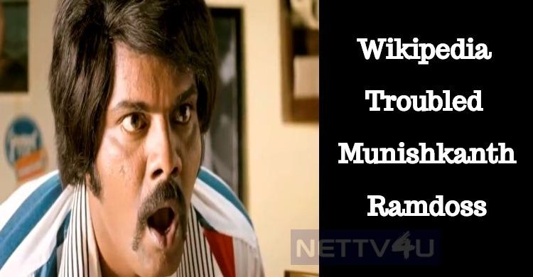 Munishkanth Ramdoss And His Wikipedia Experience!