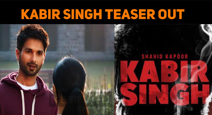 Kabir Singh Teaser Is Out!